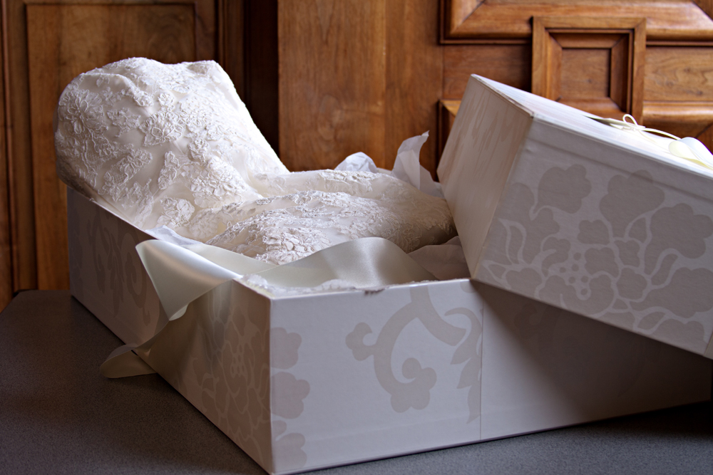 Wedding Dress Clean and Boxed Service in Plymouth